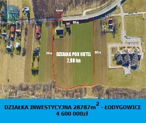 Działka na sprzedaż Łodygowice